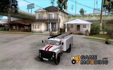 ГАЗ 53 АЦУ-30 Пожарная for GTA San Andreas