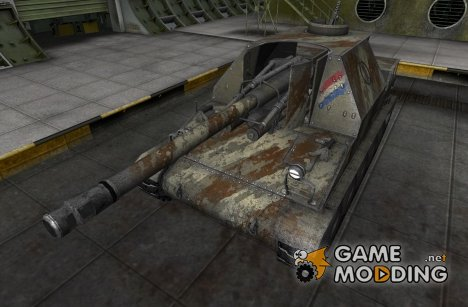 Шкурка для Lorraine 155 50 for World of Tanks