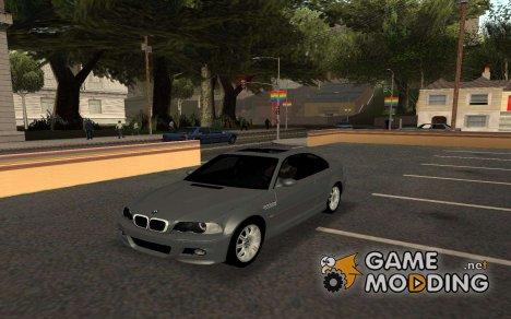 BMW M3 E46 Tunable for GTA San Andreas