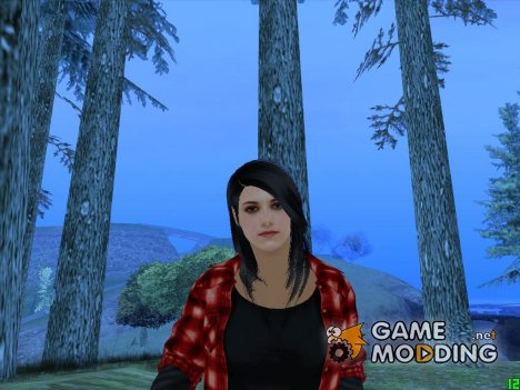 Bella Swan Twilight для GTA San Andreas