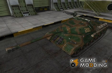 Шкурка для ИС-3 (+remodel на ИС-3-М) для World of Tanks