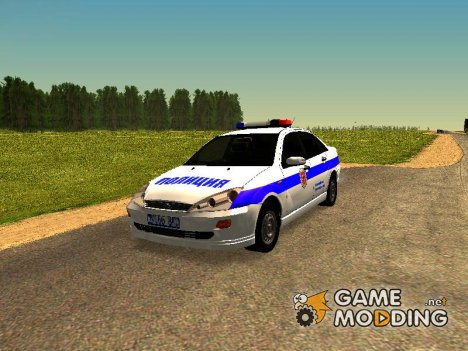 Ford Focus Полиция for GTA San Andreas