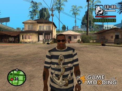 "Футболка ""Моряк"" для GTA San Andreas"