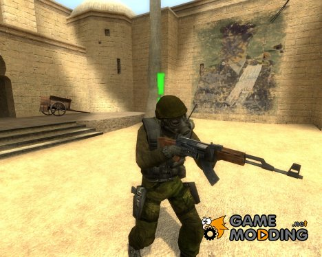 Gilkong Green Camo for Counter-Strike Source