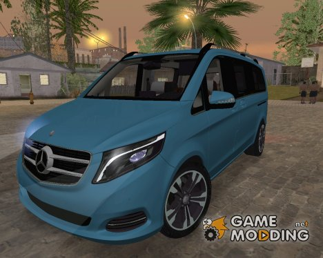 Mercedes-Benz V-Class 2015 for GTA San Andreas