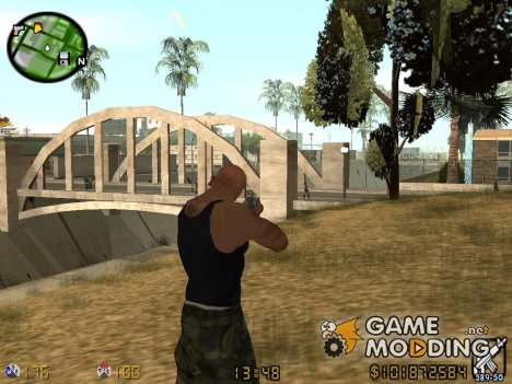 Hud CS 1.6 для GTA San Andreas