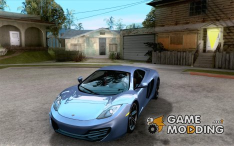 McLaren MP4-12C 2012 for GTA San Andreas