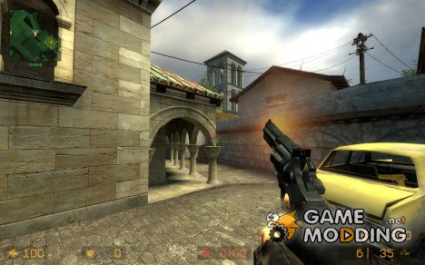 Two Handed Revolver Animations for Counter-Strike Source
