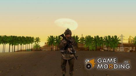 Солдат ВДВ (CoD MW2) v5 для GTA San Andreas