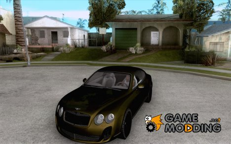 Bentley Continetal SS Dubai Gold Edition для GTA San Andreas