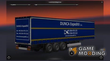 Dunca Expeditii Trailer for Euro Truck Simulator 2