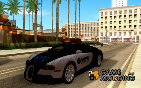 Вugatti Veyron (cop version) for GTA San Andreas