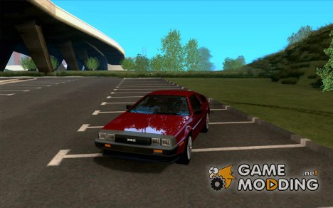 DeLorean DMC-12 V8 для GTA San Andreas