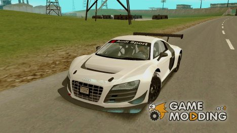 Audi R8 LMS Ultra(v1.0.0) for GTA San Andreas