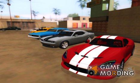 Пак Dodge для GTA San Andreas