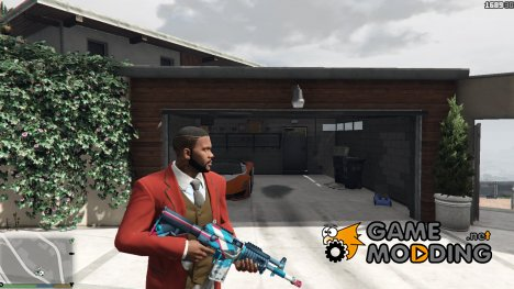 Galil AR Rocket Pop for GTA 5
