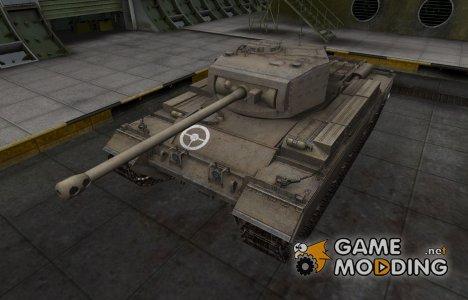 Зоны пробития контурные для Caernarvon для World of Tanks