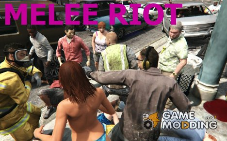 Melee Riot 0.6 for GTA 5