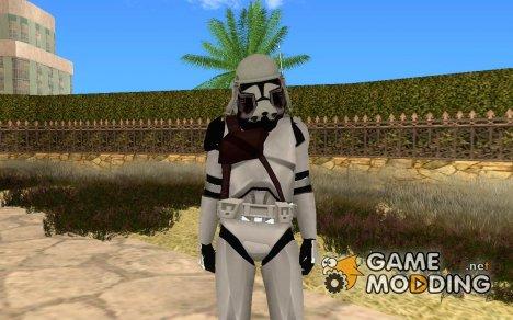 Commander Bacara for GTA San Andreas