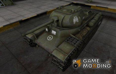 Зоны пробития контурные для КВ-13 для World of Tanks