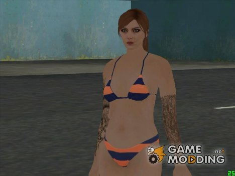 Female Bikini HD GTA V Online 2016 for GTA San Andreas