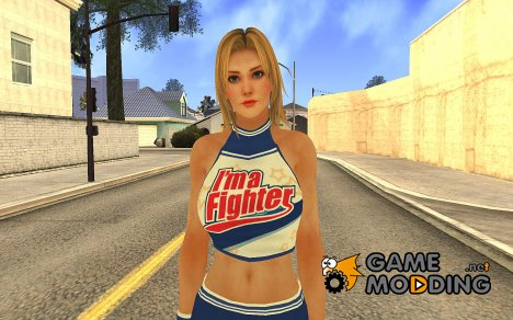 Lisa Cheerleader для GTA San Andreas
