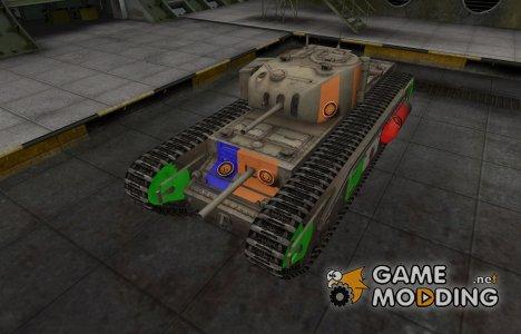 Качественный скин для Churchill I для World of Tanks