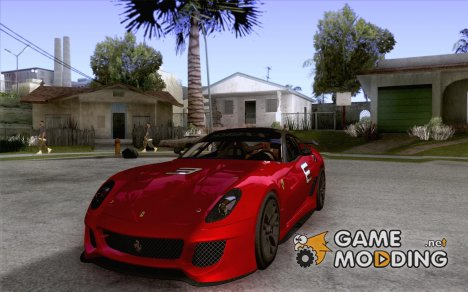 Ferrari 599xx 2010 for GTA San Andreas