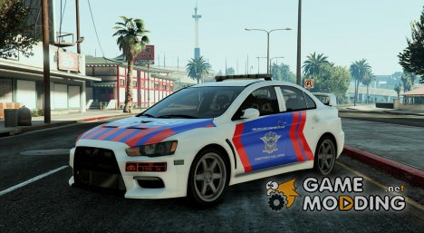 Mitsubitshi Indonesia Police для GTA 5