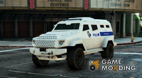 Türk Polis Akrep for GTA 5