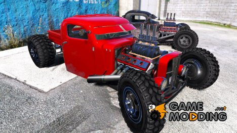 Dumont Type 47 Rat Rod 2.0 для GTA 5
