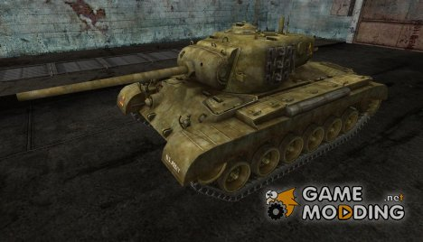 Шкурка для M26 Pershing for World of Tanks