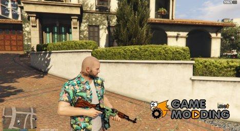 AK-47 Fire Serpent для GTA 5