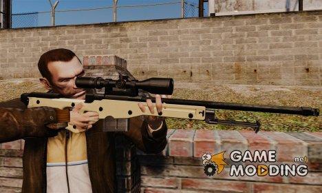 Снайперская винтовка AW L115A1 for GTA 4