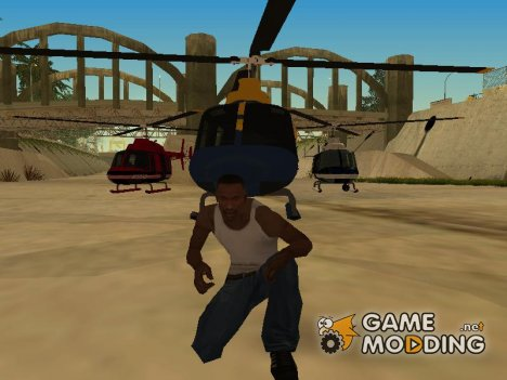 Пак воздушного транспорта из GTA IV для GTA San Andreas