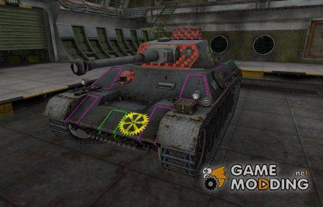 Контурные зоны пробития PzKpfw III/IV for World of Tanks