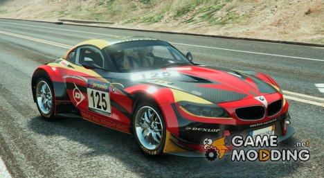 BMW Z4 GT3 v2.1 for GTA 5