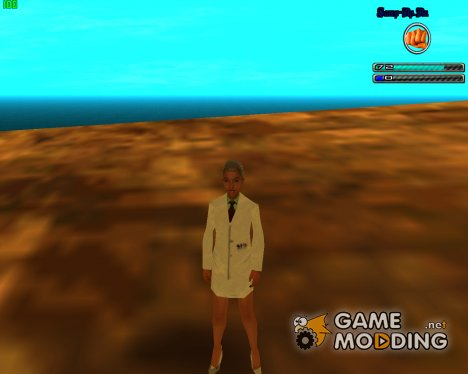Новая Медсестра для GTA San Andreas