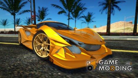 Gumpert Apollo Intensa Emozione 2019 for GTA San Andreas