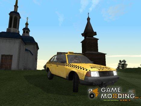 АЗЛК 2141 Такси для GTA San Andreas