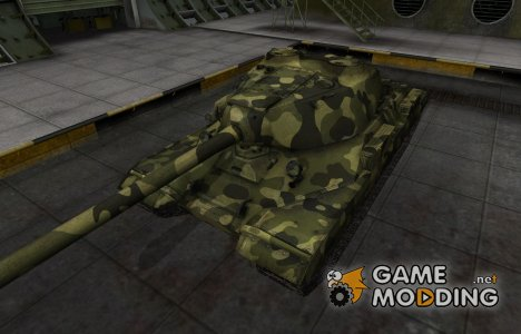 Скин для СТ-I с камуфляжем для World of Tanks