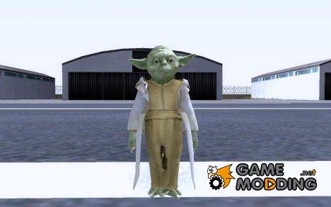 """Йода из мультсериала """"Звёздные Войны"""" для GTA San Andreas"""
