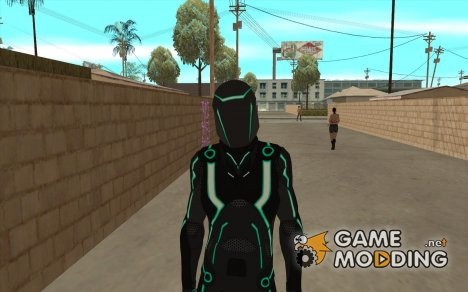 Персонаж из игры Tron: Evolution for GTA San Andreas