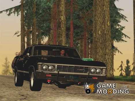 Chevrolet Impala 1967 Supernatural для GTA San Andreas
