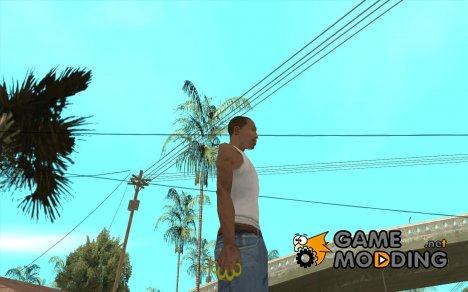Золотой кастет for GTA San Andreas