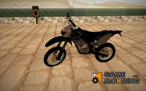 Kawasaki KLX 250CC BlackEditin for GTA San Andreas
