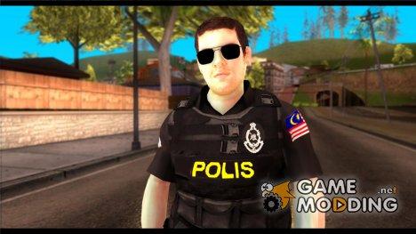 Polis Malaysia 2014 для GTA San Andreas