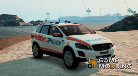 Volvo XC60 - Swiss - GE Police for GTA 5