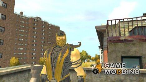 Скорпион для GTA 4