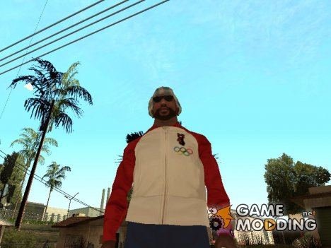 Весёлая куртка с Олимпийским Мишкой for GTA San Andreas